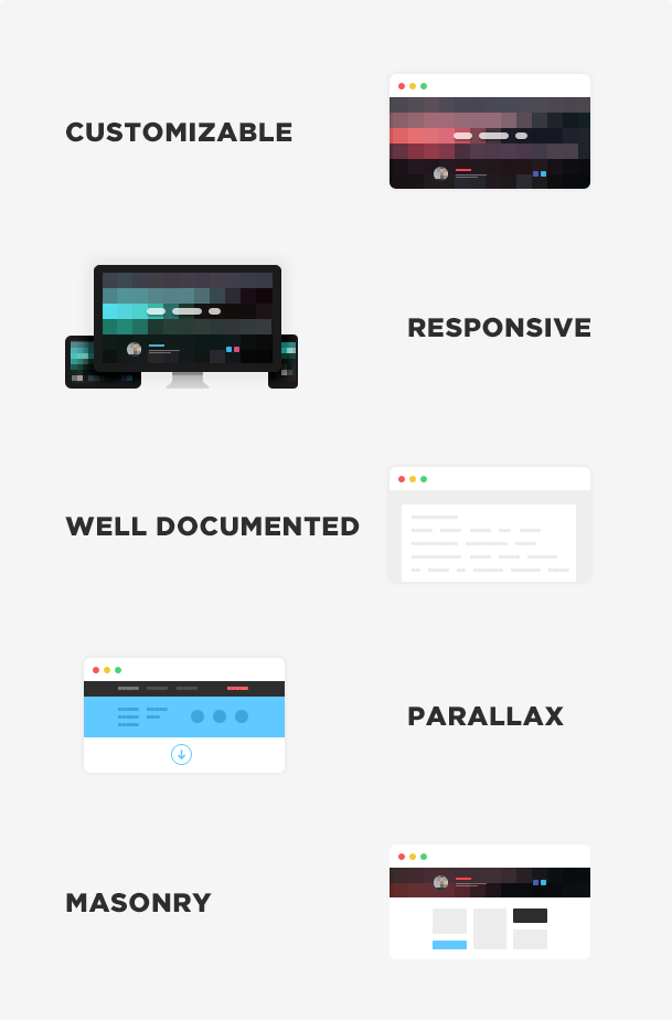 Inted - Multi-column, Responsive HTML5 Theme